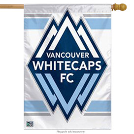 Vancouver Whitecaps Vertical Flag MLS