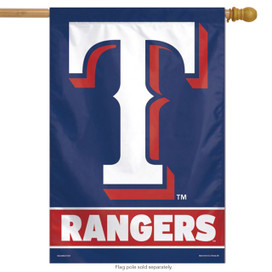 Texas Rangers House Flag MLB Licensed Baseball