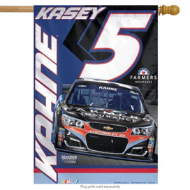Kasey Kahne #5 NASCAR Vertical House Flag