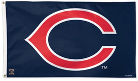 "Cleveland Indians ""C"" Deluxe Grommet Flag"