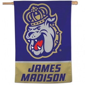 James Madison University Vertical Flag