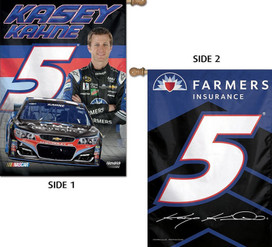 Kasey Kahne #5 Double Sided House Flag