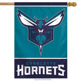 Charlotte Hornets Vertical NBA House Flag