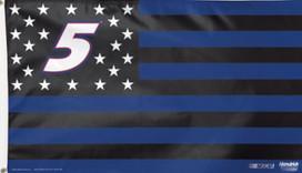 Kasey Kahne # 5 NASCAR Deluxe Grommet Flag