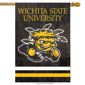 Wichita State University Applique Banner