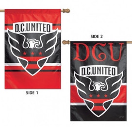 D.C. United Double Sided MLS House Flag