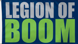 Seattle Seahawks Legion of Boom Deluxe Grommet Flag