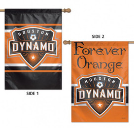 Houston Dynamo Double Sided MLS House Flag