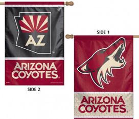 Arizona Coyotes Vertical House Flag NHL