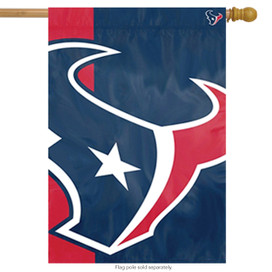 Houston Texans Bold Logo House Flag