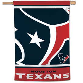 Houston Texans Vertical NFL Flag