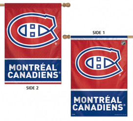 Montreal Canadiens Vertical 2 Sided House Flag