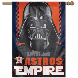 Houston Astros Star Wars Vertical Flag