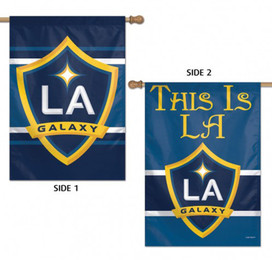 Los Angeles Galaxy Double Sided House Flag