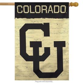 University of Colorado Vertical Flag