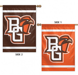 Bowling Green State University Falcons 2 Sided NCAA House Flag