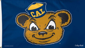 University of California NCAA Bears Deluxe Grommet Flag