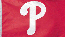 "Philadelphia Phillies ""P"" 3' x 5' Grommet"