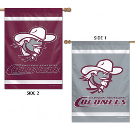 Eastern Kentucky Colonels 2 Sided House Flag