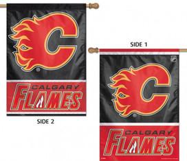 Calgary Flames Vertical House Flag NHL