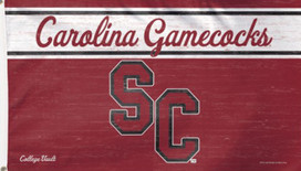 South Carolina Gamecocks NCAA Deluxe Grommet Flag