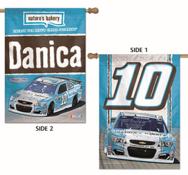 Danica Patrick #10 2 Sided House Flag