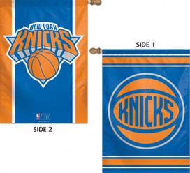 New York Knicks 2 Sided NBA Vertical House Flag Licensed Basketball