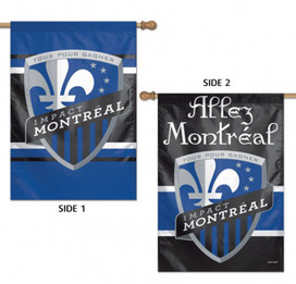 Impact Montreal Double Sided MLS House Flag