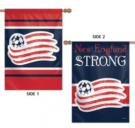 New England Strong Double Sided MLS House Flag