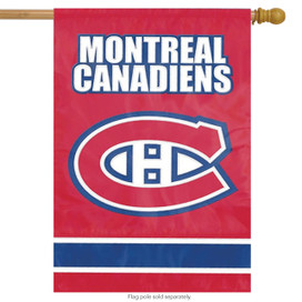Montreal Canadiens Applique & Embroidered Flag NHL