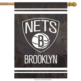 Brooklyn Nets Applique House Flag