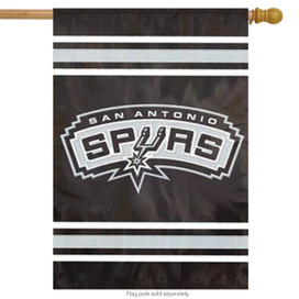 San Antonio Spurs Applique House Flag