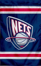 New Jersey Nets Embroidered NBA Banner