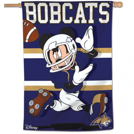 Montana State University Bobcats Mickey Mouse House Flag