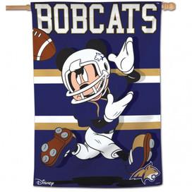 Montana State University Bobcats Mickey Mouse House Flag