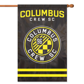 Columbus Crew Applique House Flag