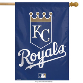 Kansas City Royals House Flag MLB Licensed Baseball