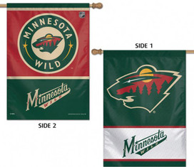 Minnesota Wild Vertical House Flag NHL