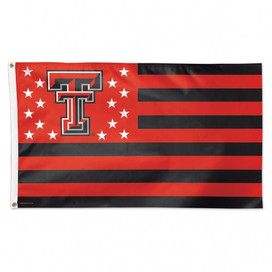 Texas Tech Stars & Stripes Deluxe Grommet Flag