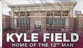 A&M Kyle Field Stadium NCAA Deluxe Grommet Flag
