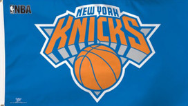 New York Knicks Deluxe NBA Grommet Flag