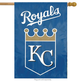 Kansas City Royals Applique Embroidered Banner Flag MLB