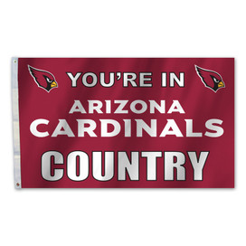Arizona Cardinals Country Grommet Flag