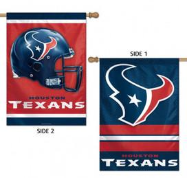Houston Texans 2 Sided NFL Vertical House Flag