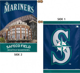 Seattle Mariners House Flag MLB Licensed Baseball