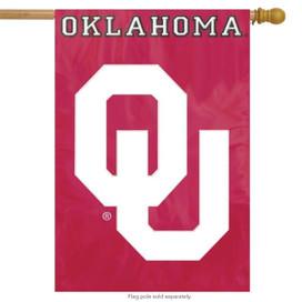 University of Oklahoma Applique Banner