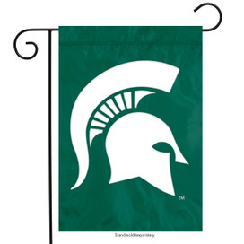 Michigan State University Applique Garden Flag