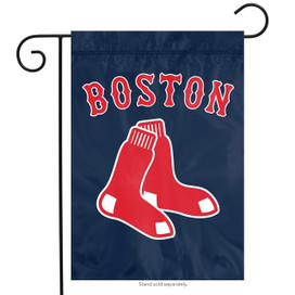 Boston Red Sox MLB Garden Flag