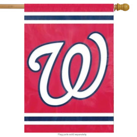 Washington Nationals MLB Licensed Banner Flag