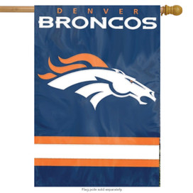 Denver Broncos Licensed NFL House Flag